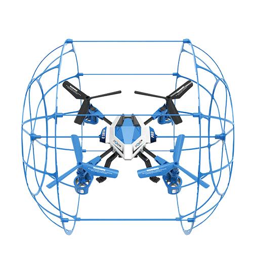 드론플러스 PLUS3 PRO 조립형 노캠, 블루