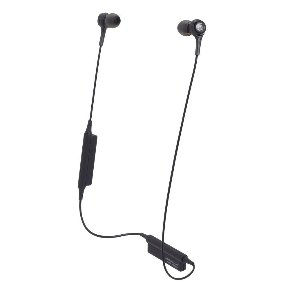 오디오테크니카 블루투스 이어폰, ATH-CK200BT, 블랙