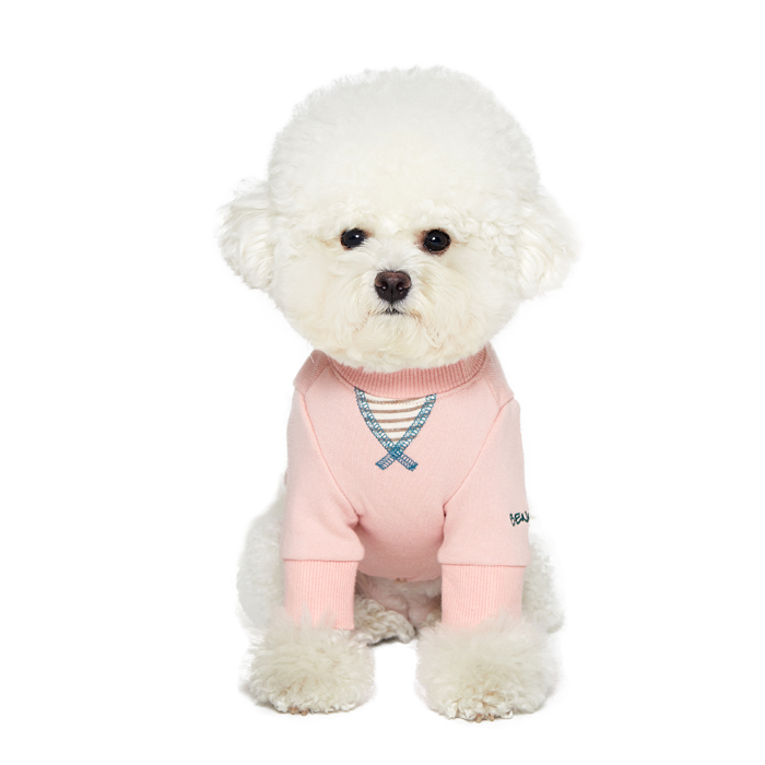 베니즈 반려동물 아이라이크 티셔츠, 케익 핑크