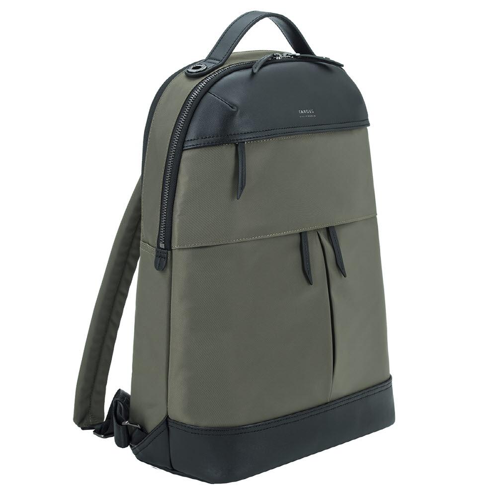 타거스 캘리포니아 뉴포트 노트북 백팩 TSB945AP-70, 올리브