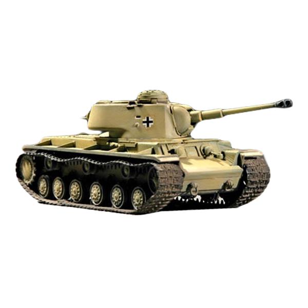 TRUMPETER 1/35 German Pz Kpfm KV-1 756r Tank 프라모델 TRU00366, 1세트