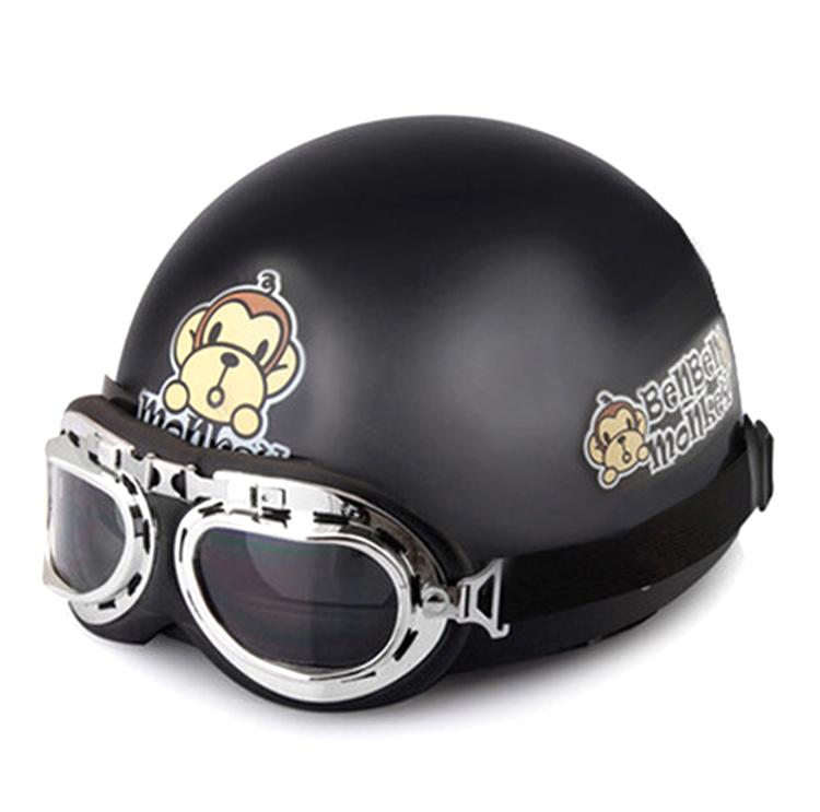 스타트리 고글헬멧 세트 helmet2703, 블랙