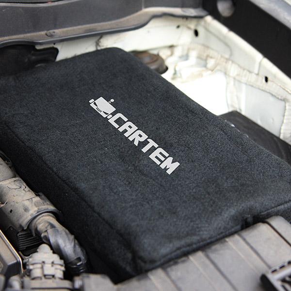 카템 차량용 배터리 프로텍트 보온커버 고급형 기아 스토닉 디젤 80, 1개