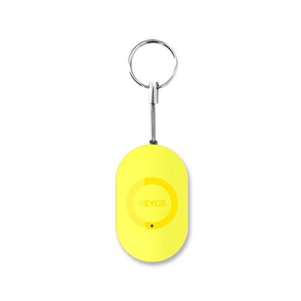 키코 Mini 분실방지 위치추적기, 옐로우, 1개