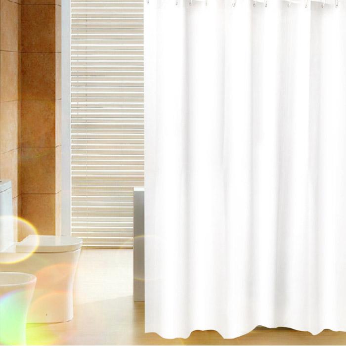 [샤워커튼] 앤티스 모던스타일 샤워 커튼 화이트 150 x 180 cm, 1개 - 랭킹7위 (7240원)
