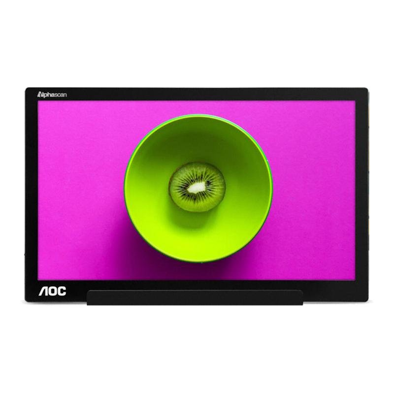 알파스캔 39.5cm HD 시력보호 휴대용 모니터, aoc i1601 무결점
