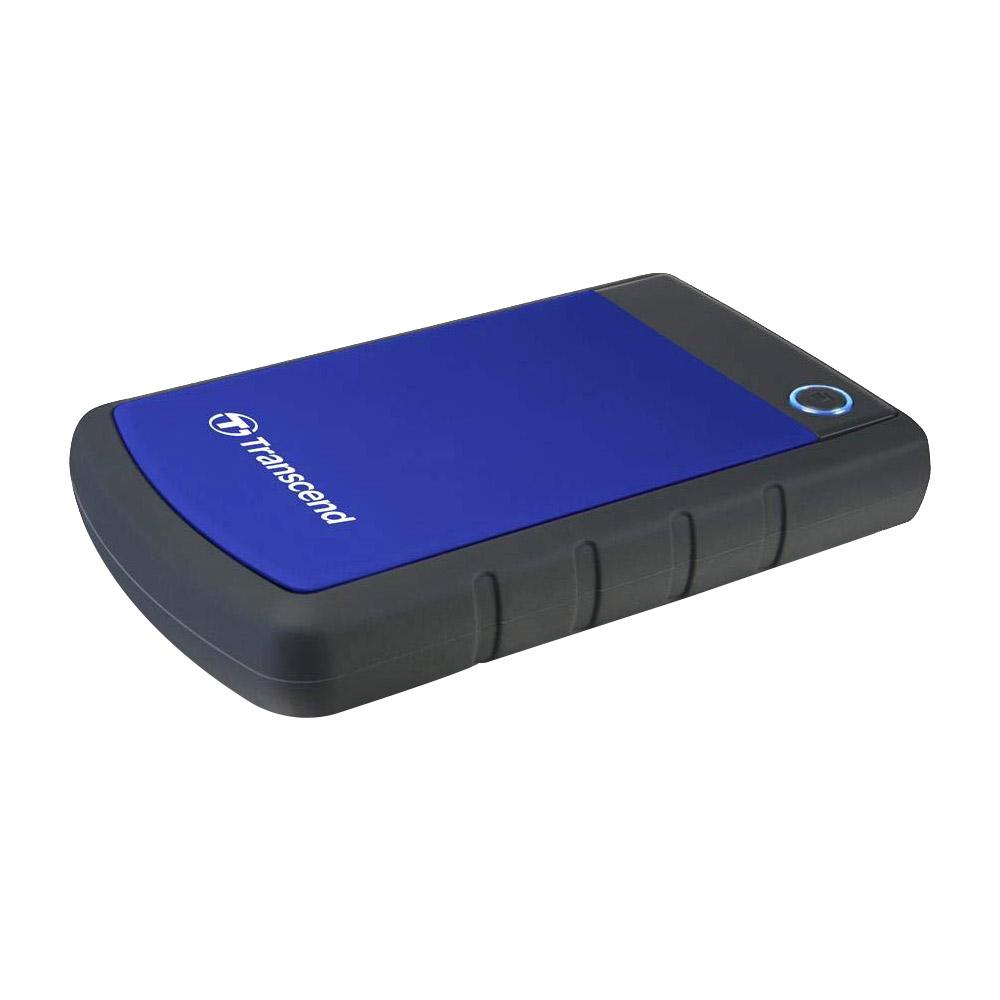 트랜센드 StoreJet 25H3B USB 3.1 Portable HDD 충격방지 외장하드 TS1TSJ25H3B, 1TB, 혼합 색상