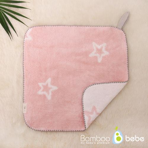 밤부베베 순한대나무 톡톡 디자인 고리타올, 반짝반짝(핑크), 1개