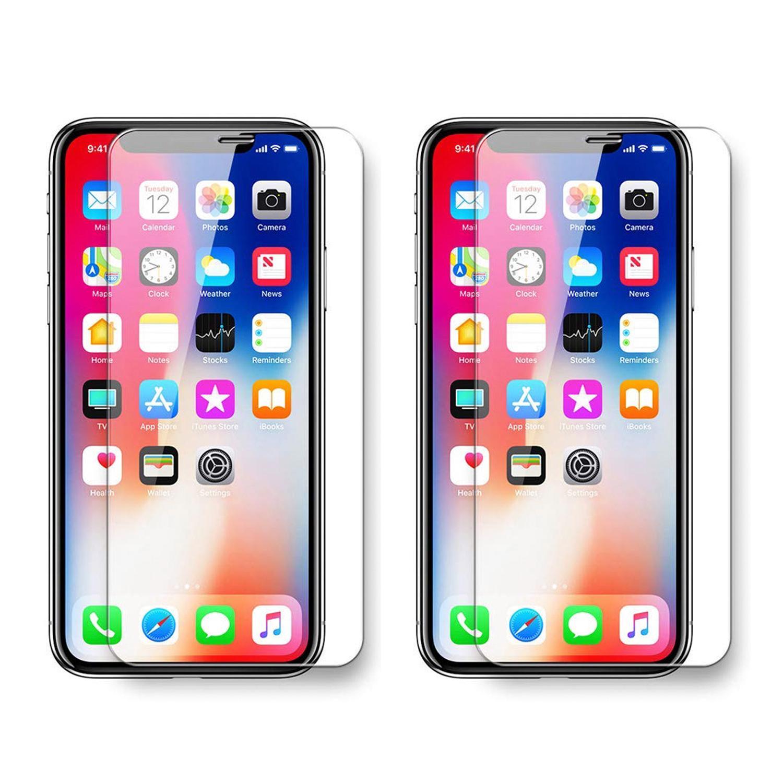 라이노 9H 0.33 mm 휴대폰 강화유리 보호필름, 2개입