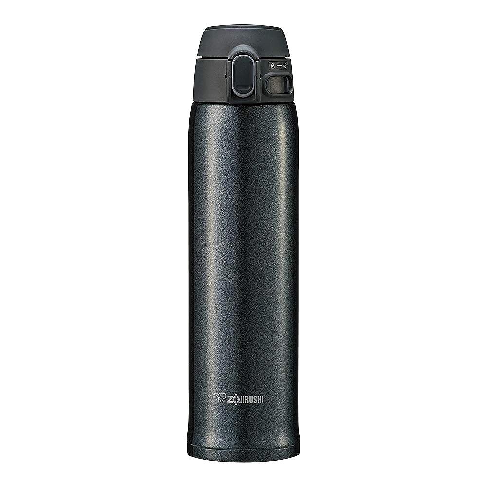 조지루시 보온 보냉 원터치 텀블러 SM-TA60, 블랙, 600ml
