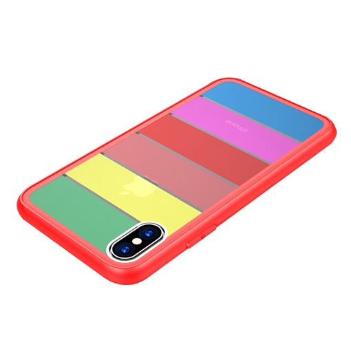 뷰씨 레인보우 휴대폰 케이스