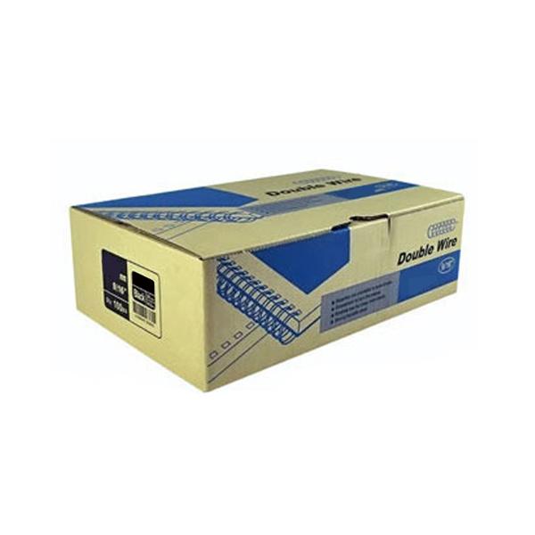 카피어랜드 와이어링 3:1 제본링 100개입, 14.3mm, 은색