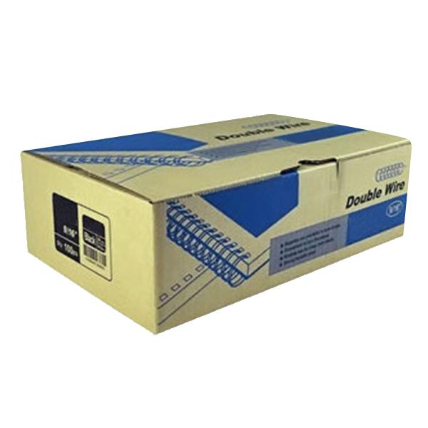 카피어랜드 와이어링 3:1 제본링 100개입, 11mm, 노랑