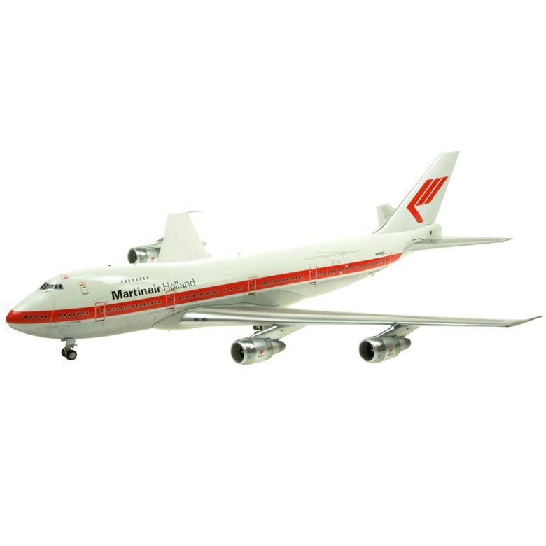 Inflight 1/200 Holland Martin aviation B747-200 PH-MCE 비행기 다이캐스트, 혼합 색상
