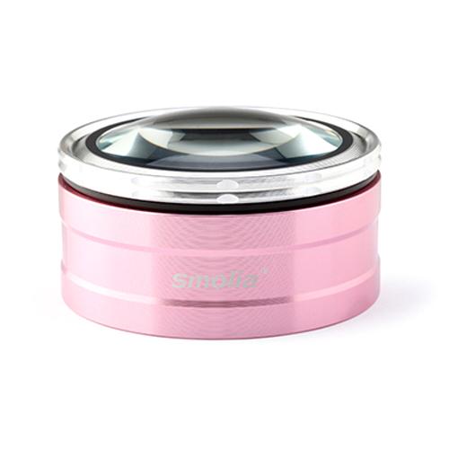스몰리아 고급형 6배율 돋보기, Smolia TZC(핑크), 1개