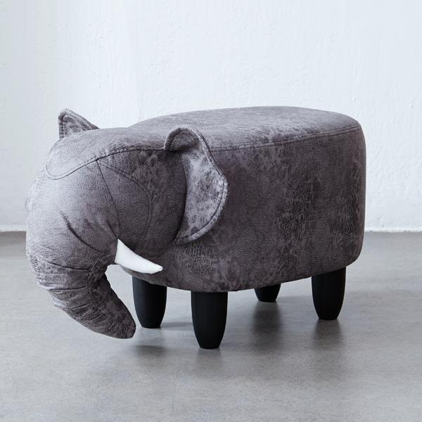 베스트리빙 모디디 애니멀스툴, 진회색코끼리 DARK GREY(BK2031)