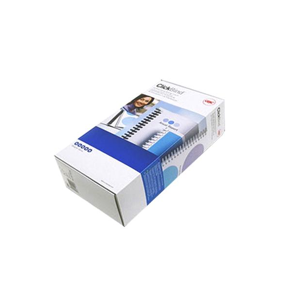 카피어랜드 GBC 이비 클릭링 50개입, 16mm, 검정