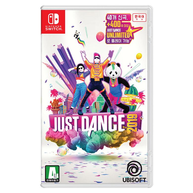 닌텐도 스위치 저스트 댄스 2019 한글판 게임타이틀, 단일 상품