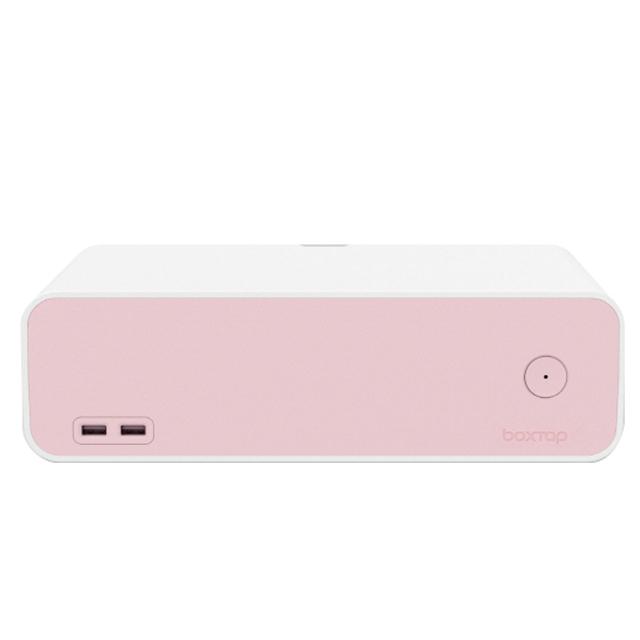 에이블루 원스위치 usb형 멀티탭정리함 AB521 핑크, 2.3m, 1개