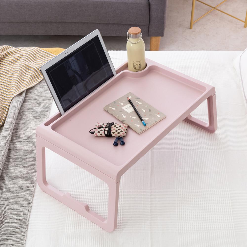 아임홈 MESA 다용도 접이식 미니 테이블, 핑크