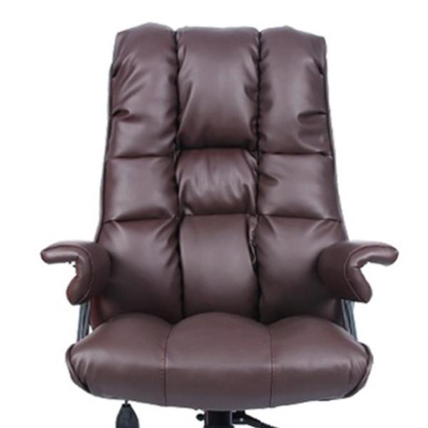 의자명가 뉴타이탄 2 일반좌판 의자, 다크브라운