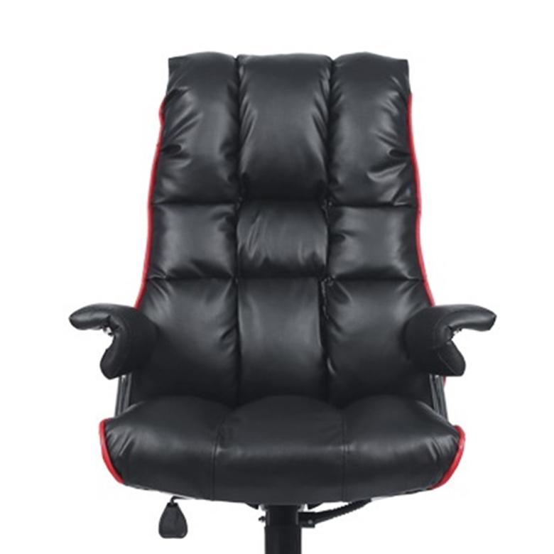 타이탄 2 일반좌판 중역의자, 블랙 + 레드