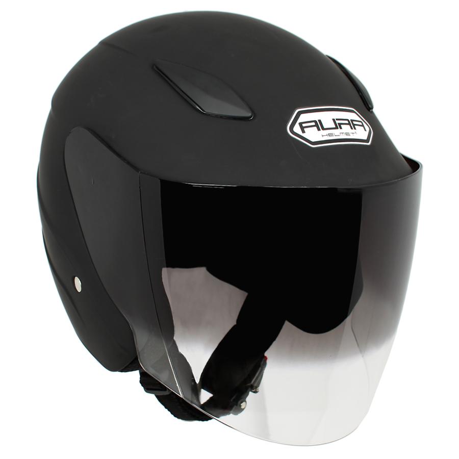 AURA 2 오토바이 헬멧, 무광블랙