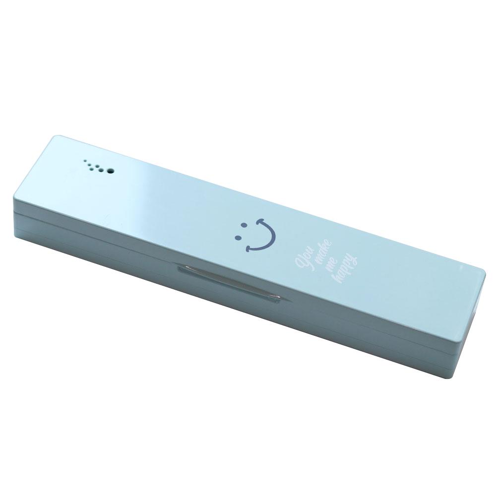 소유 심플리 휴대용 칫솔살균기, BBS-1000B, 블루(스마일)