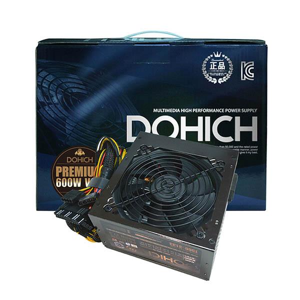 DOHICH 하이퍼포먼스 파워서플라이 쿨러 PREMIUM 600W V2.3
