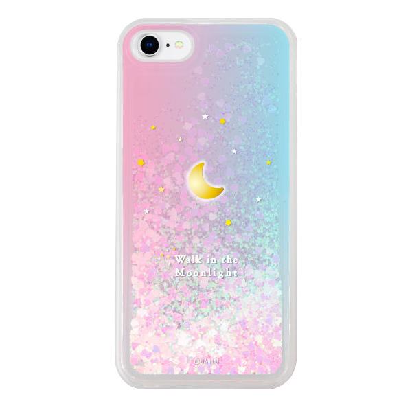 하이하이 24K 금 & 크롬 도금 달빛별빛 글리터 휴대폰 케이스-22-154193294