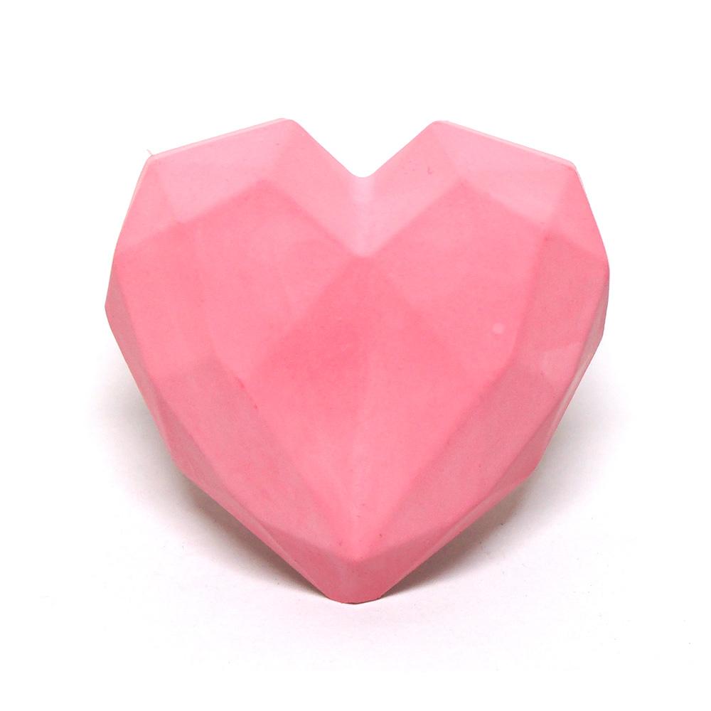 라띠크제이 심쿵하트 석고 차량용방향제 핑크 샌달우드, 1개입, 1개
