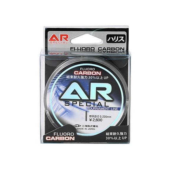 구주 AR 카본 플로로 낚시 목줄 50m, 투명 백색