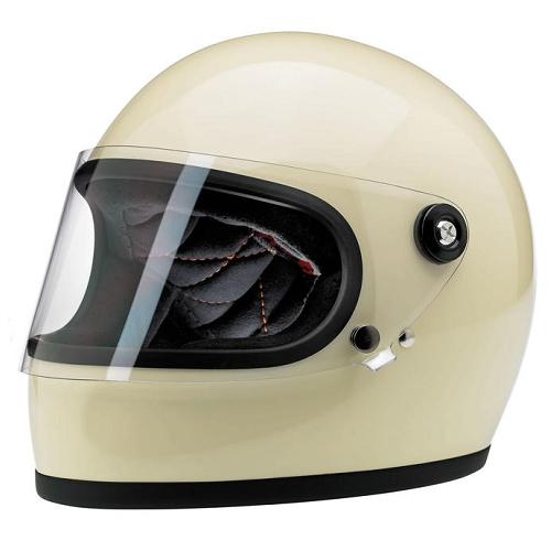 빌트웰 그링고 S 풀페이스 오토바이 헬멧, 빈티지 화이트