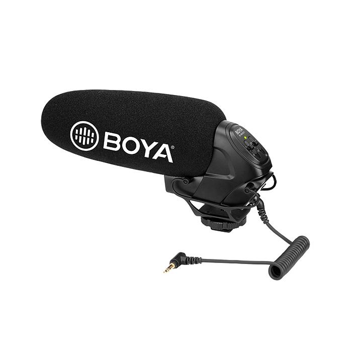보야 슈퍼카디오디드 샷건 마이크 BY-BM3031(DSLR 카메라용), 1개, BY-BM3031