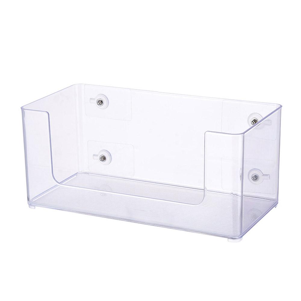 모나코올리브 무타공 거치 투명 욕실선반, 혼합 색상, 1개