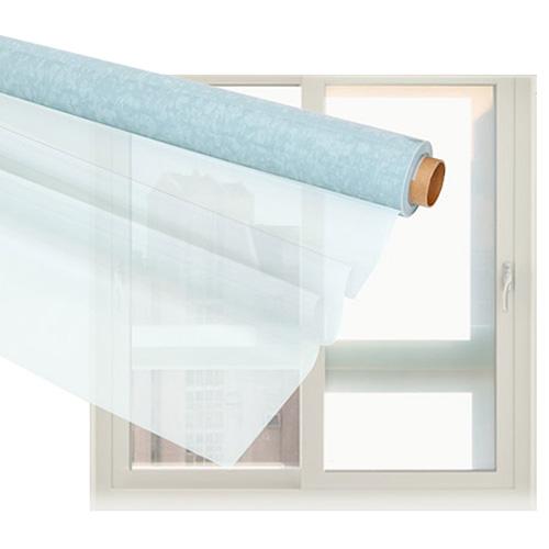 해담 무접착 간편 DIY 사계절 창문 단열시트지 + 헤라 밀대, 반투명 화이트