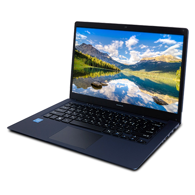 아이뮤즈 노트북 StormBook14S (Celeron N3350 35.8cm WIN10 eMMC 32G), 256GB, 4GB, 메탈릭 블루
