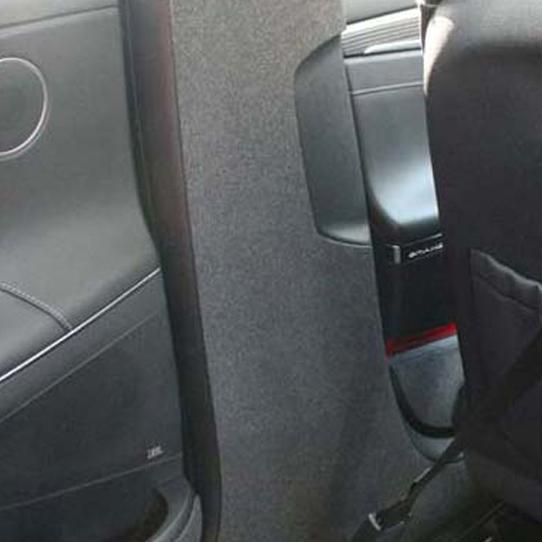 엑스원 순정형 스크채치 방지 퓨얼커버 그랜져IG 안전벨트커버, 혼합 색상, 1세트