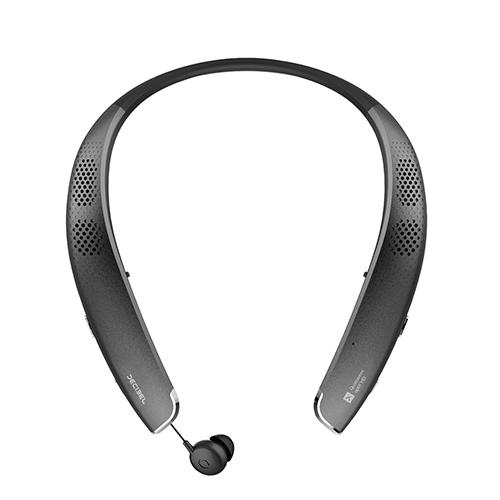 데시벨 넥밴드 블루투스 이어폰, BCS-S1000, BLACK