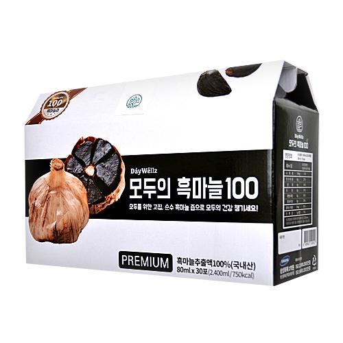 데이웰즈 모두의 흑마늘100 즙, 80ml, 30포