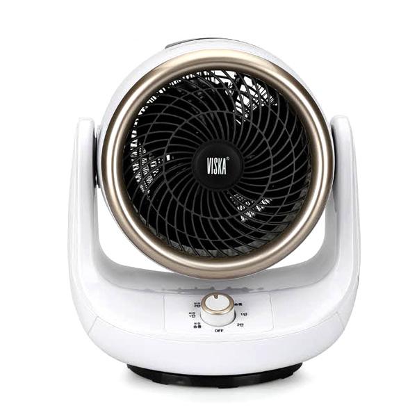 비스카 써큘레이터 팬 히터 HNZ-E550SAH, 화이트