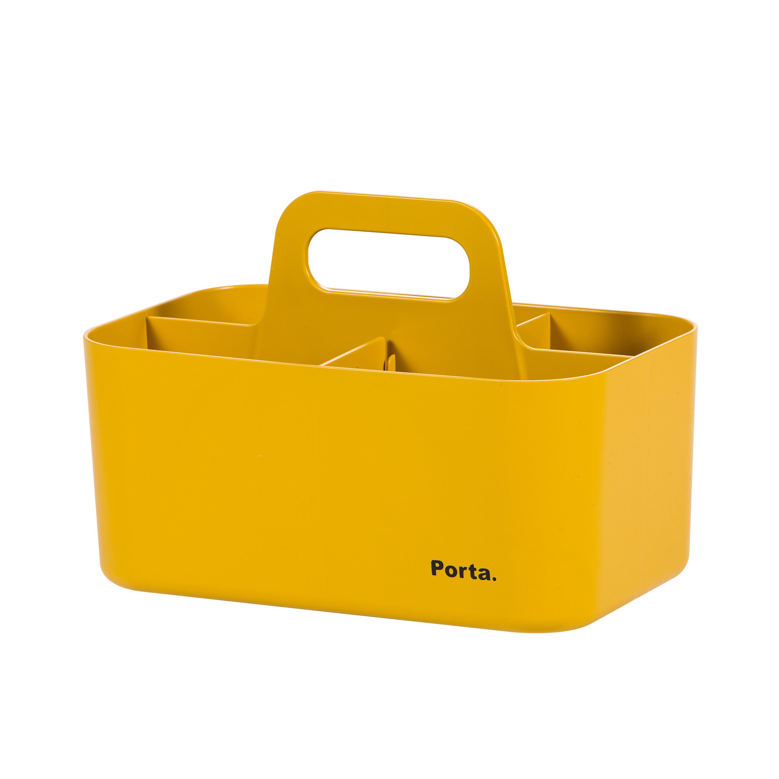 마이룸 포르타 컴팩트 수납정리용품 YELLOW, 1개