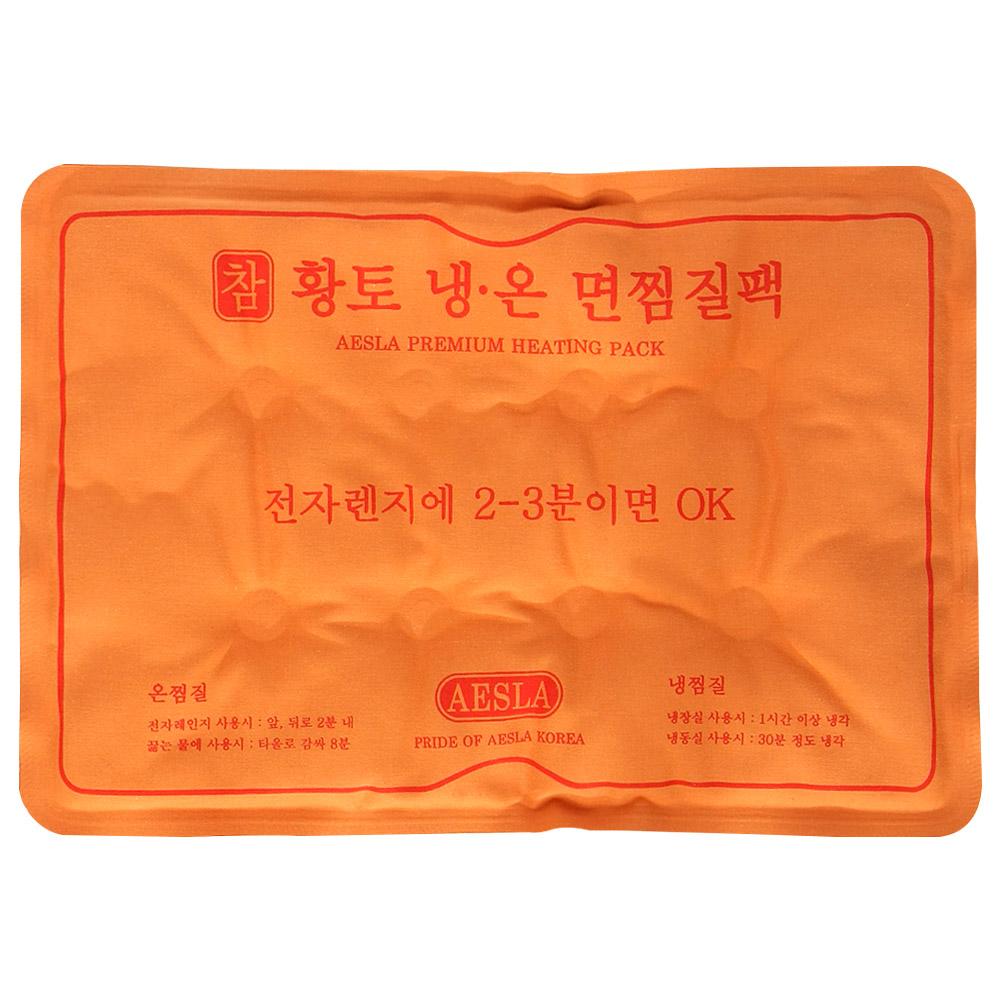 애슬라 참황토 냉온 면 찜질팩, 1개