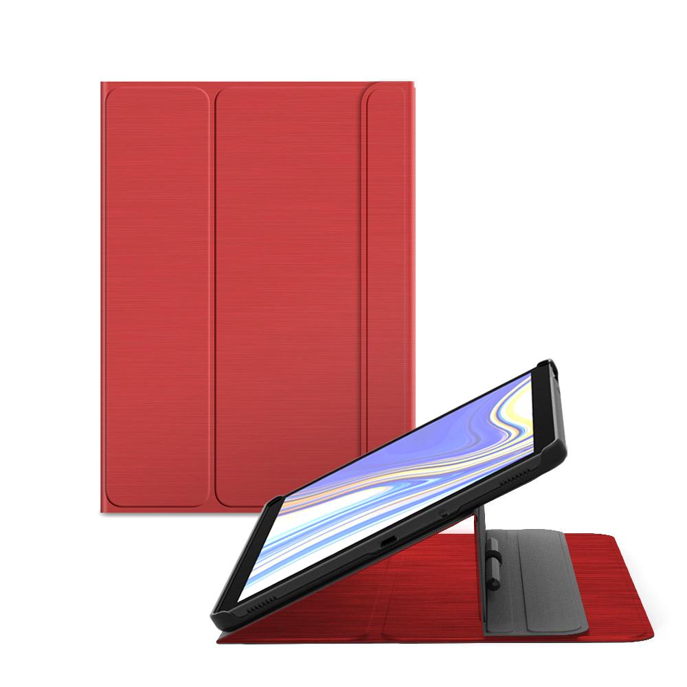 랩씨 슬림핏 태블릿PC 케이스, 레드