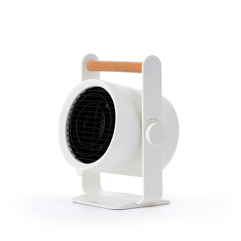 에비에어 PTC 컴팩트 온풍기, V9, 화이트