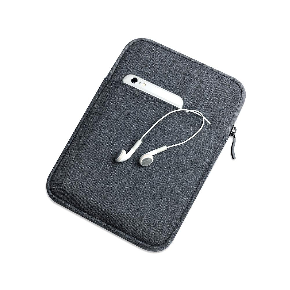 DM 알럽홈 태블릿 보호파우치 22.5 x 27.5 x 1.5 cm, 다크그레이