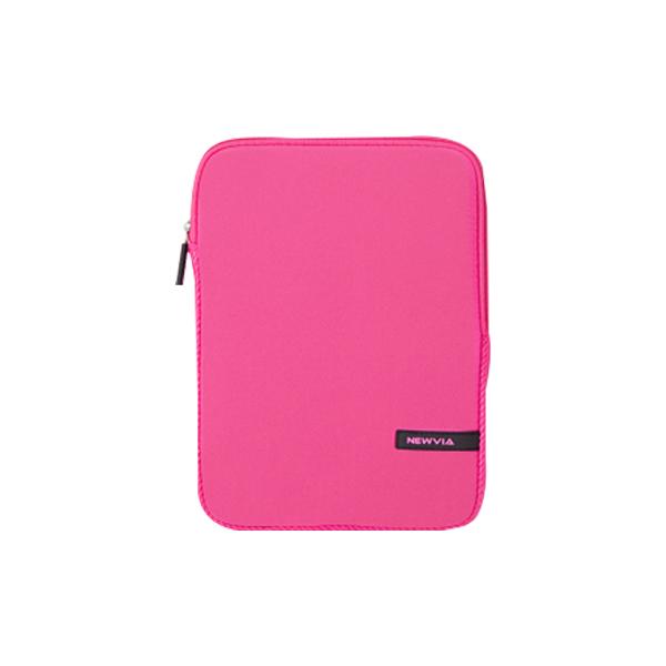 뉴비아 베이직 컬러 노트북파우치 NVA-N007, 핑크