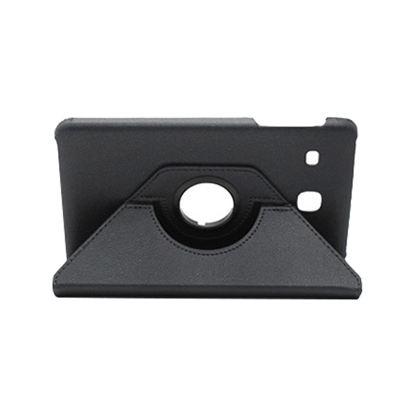 월드온 태블릿PC 360도 회전 가죽케이스, 블랙