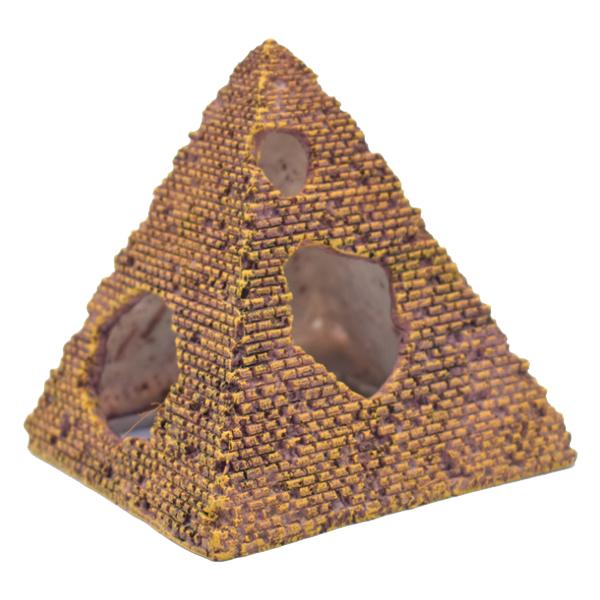 제제펫 산란피라미드 수족관 장식품 G150PSFS090, 1개