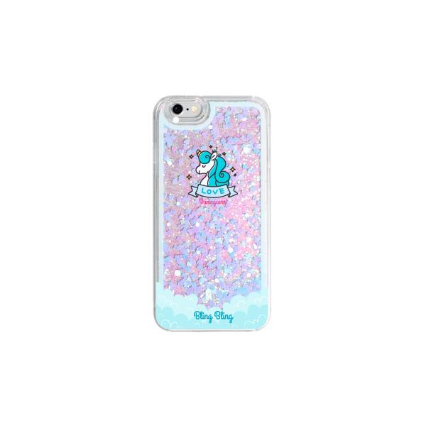 하이하이 샤이닝콘 글리터 휴대폰 케이스-18-149509155